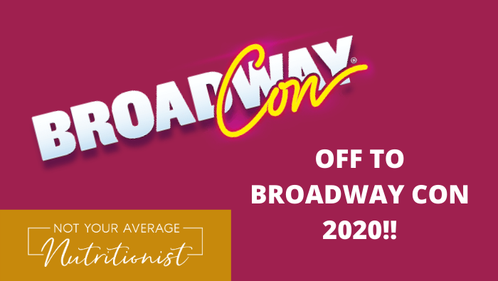 OFF TO BROADWAY CON 2020!