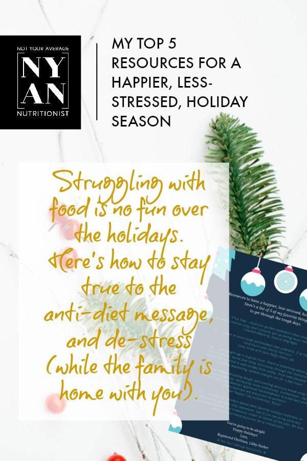 Holiday Season Resources