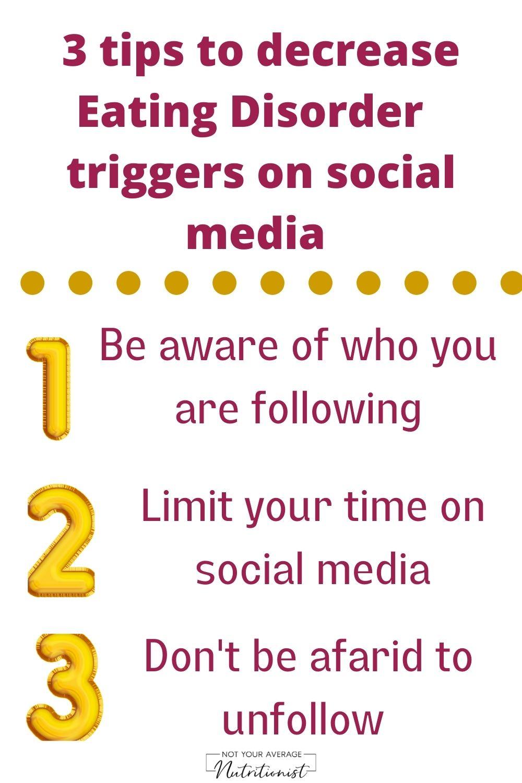 Social Media & Eating Disorders